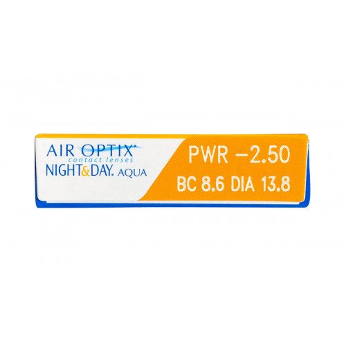 Air Optix Plus HydraGlyde Night & Day (Monthly)