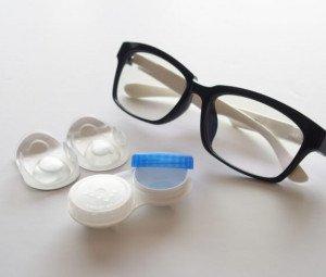傳統眼鏡與隱形眼鏡的比較